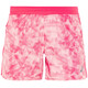 asics Fuzex 5,5In - Short running Femme - rose